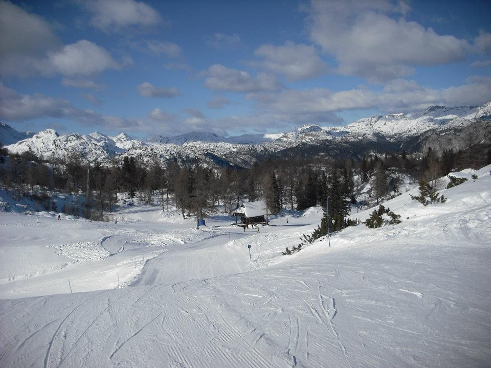 Skiing in Slovenia