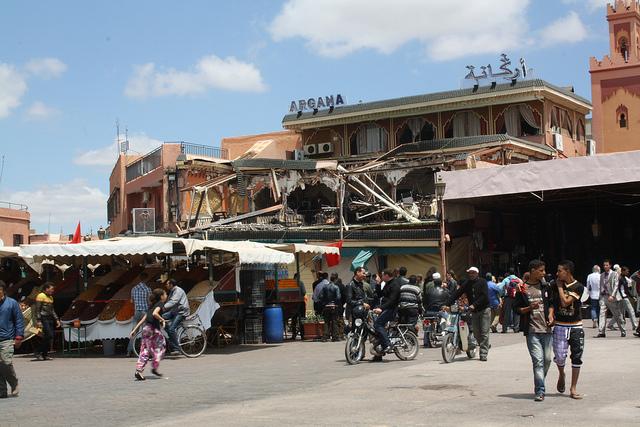 Marrakesh Bombing in 2011