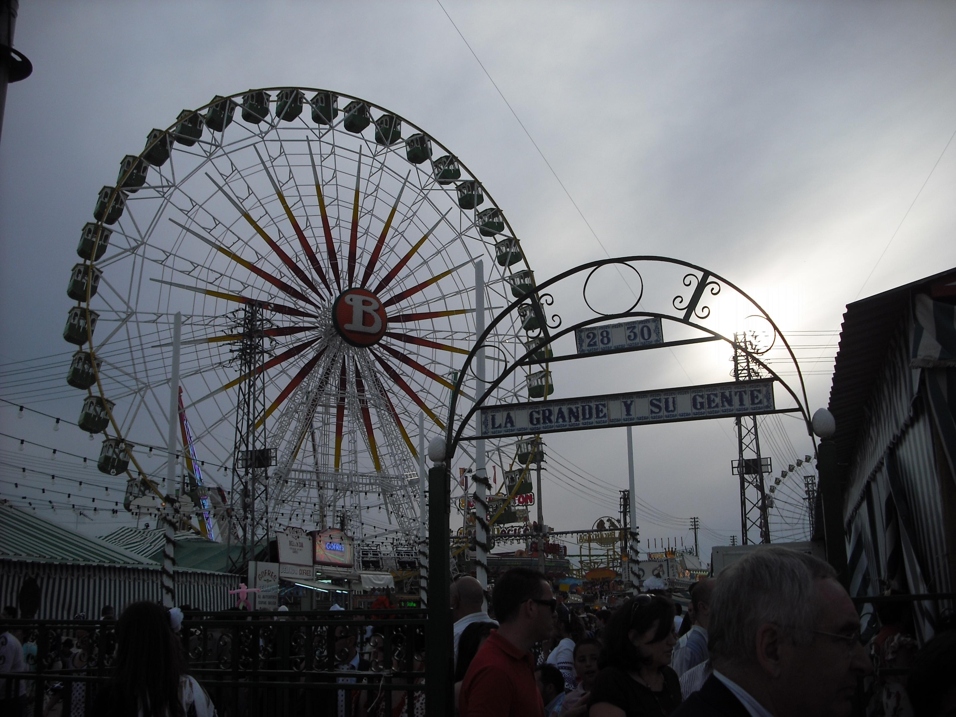 Festival in Seville
