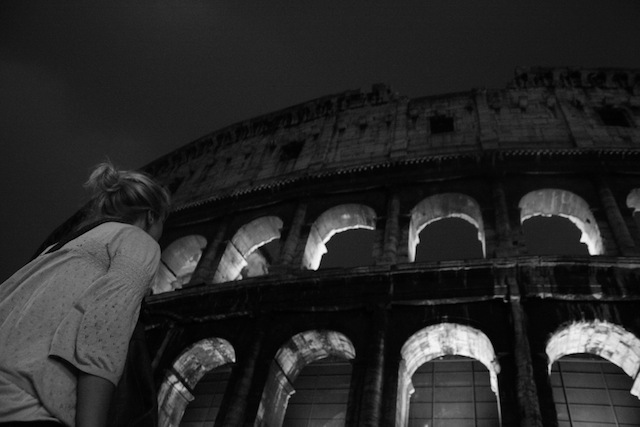 The Coloseum in Rome